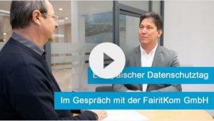 Europäischer Datenschutztag I Im Gespräch mit FairitKom GmbH